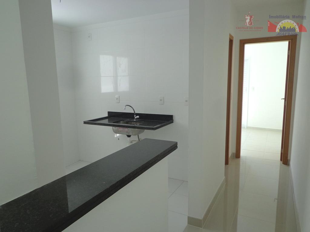 Apartamento residencial à venda, Canto do Forte, Praia Grande - AP0194.
