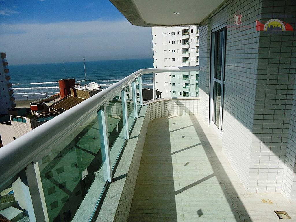 Apartamento residencial à venda, Vila Caiçara, Praia Grande - AP0202.