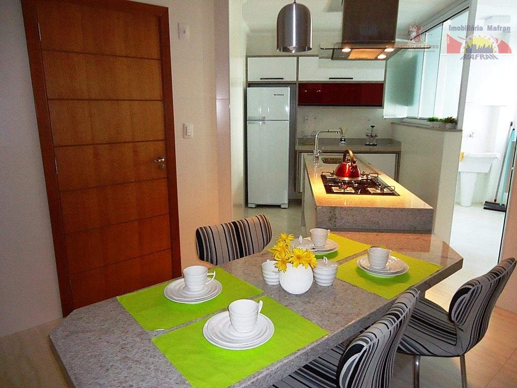 Apartamento residencial à venda, Vila Caiçara, Praia Grande - AP0205.