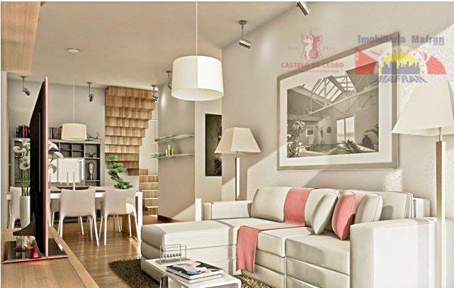 Apartamento Duplex  residencial à venda, Campo da Aviação, Praia Grande.