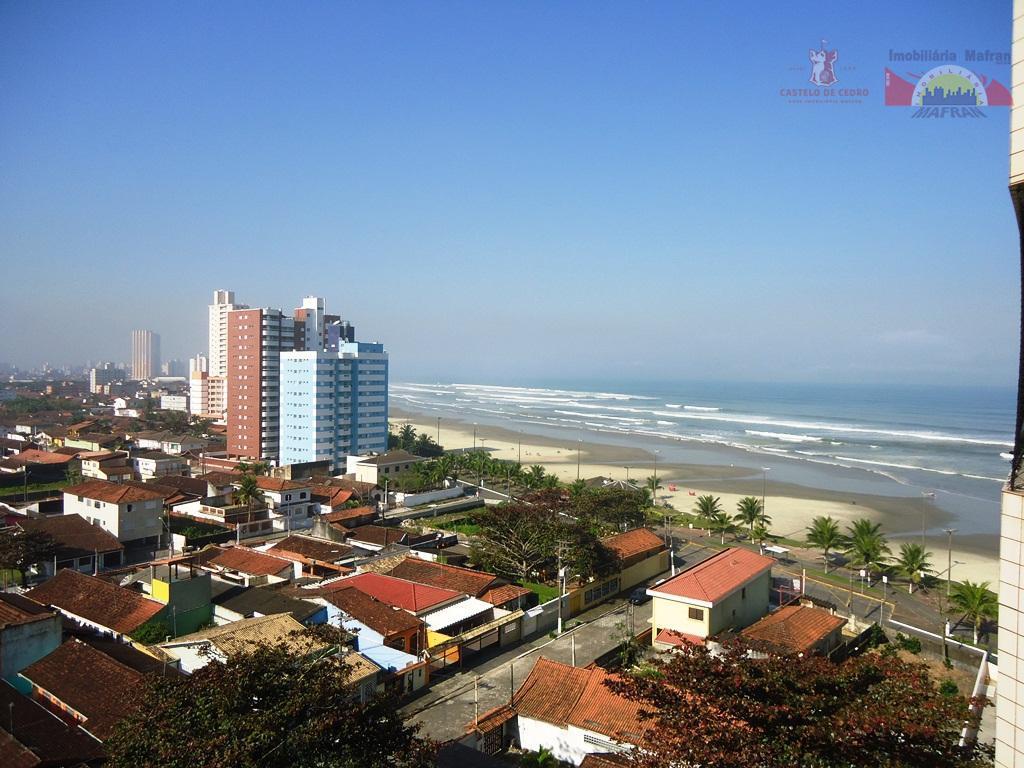 Apartamento residencial à venda, Vila Caiçara, Praia Grande - AP0357.