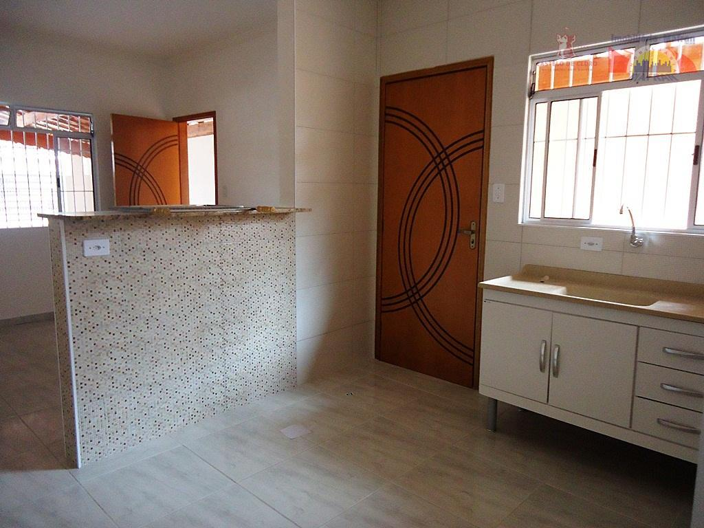 Casa residencial à venda, Vila Guilhermina, Praia Grande - CA0009.
