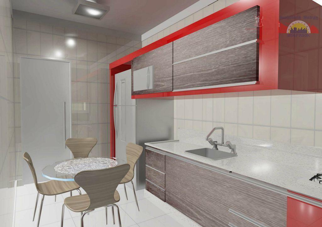 Apartamento residencial à venda, Vila Guilhermina, Praia Grande - AP0398.