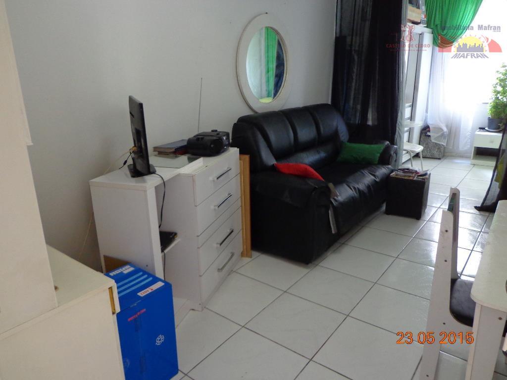 Kitnet residencial à venda, Vila Guilhermina, Praia Grande - KN0018.