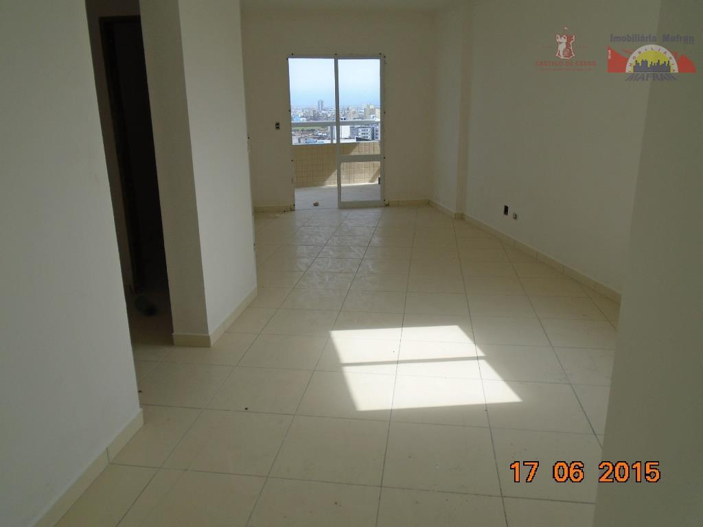 Apartamento residencial à venda, Vila Guilhermina, Praia Grande - AP0210.