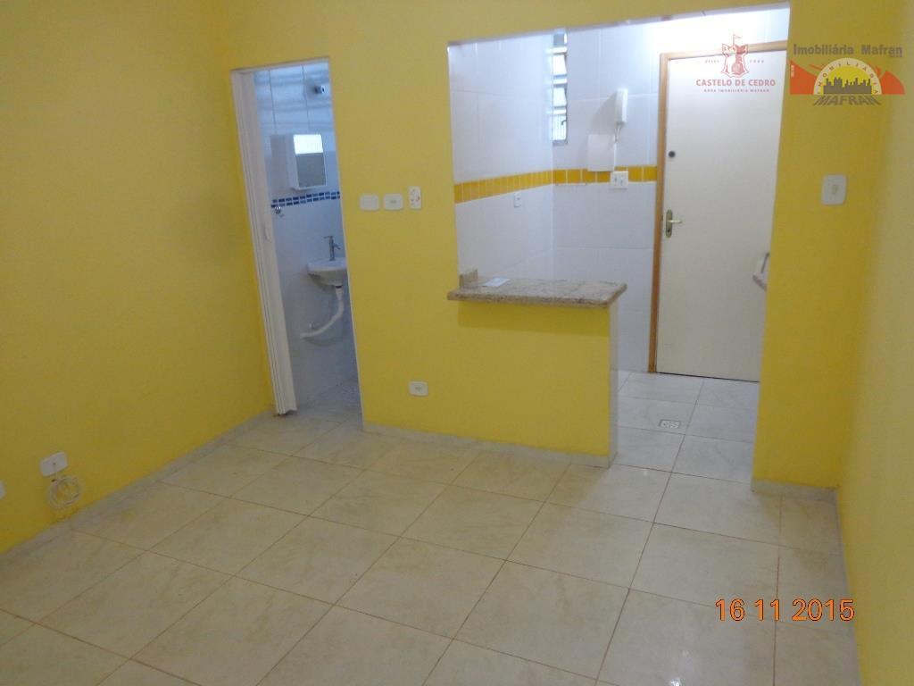 Kitnet residencial à venda, Canto do Forte, Praia Grande.