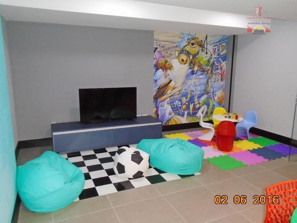 Apartamento, novo, 1 dormitório com suíte. Forte, Praia Grande.