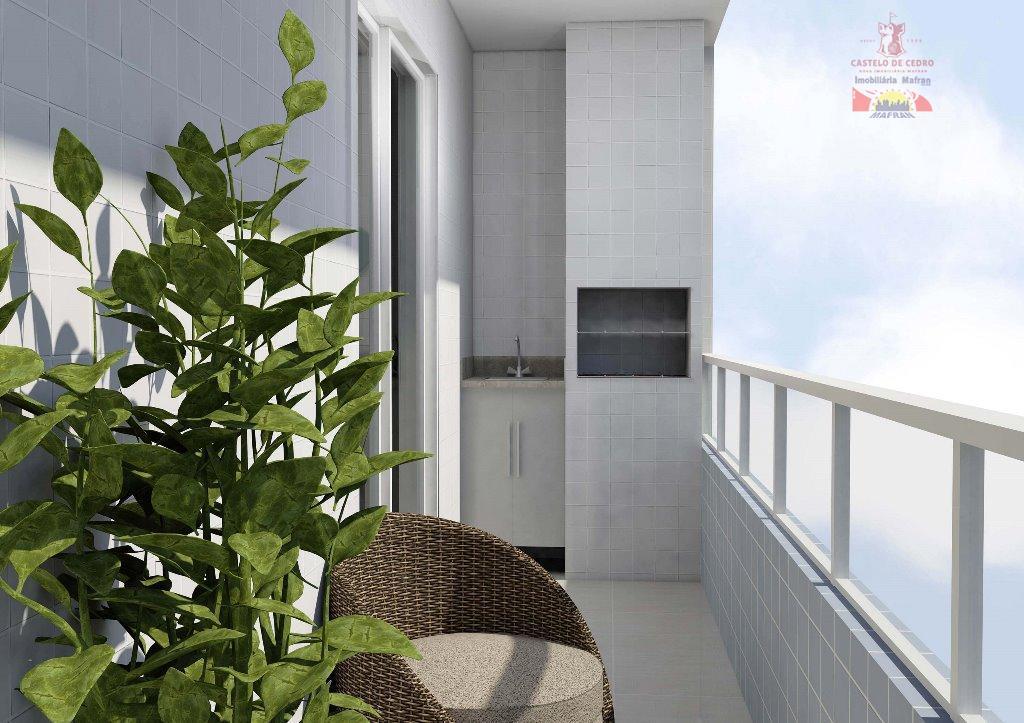 Apartamento residencial à venda, Ocian, Praia Grande - AP1580.