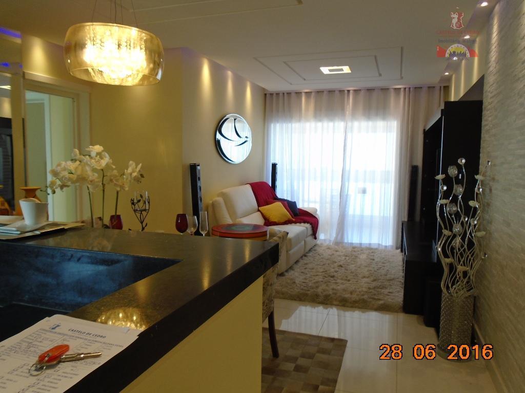 Apartamento residencial à venda, Vila Guilhermina, Praia Grande - AP1625.