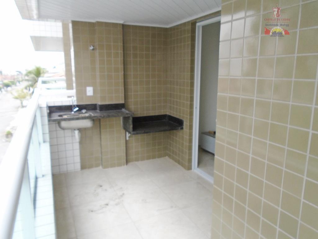 Apartamento residencial à venda, Vila Guilhermina, Praia Grande - AP1133.