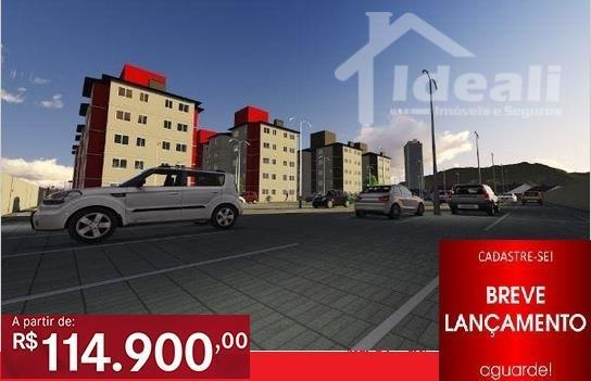 Apartamentos Residencial à venda. Apenas R$ 114.900,00