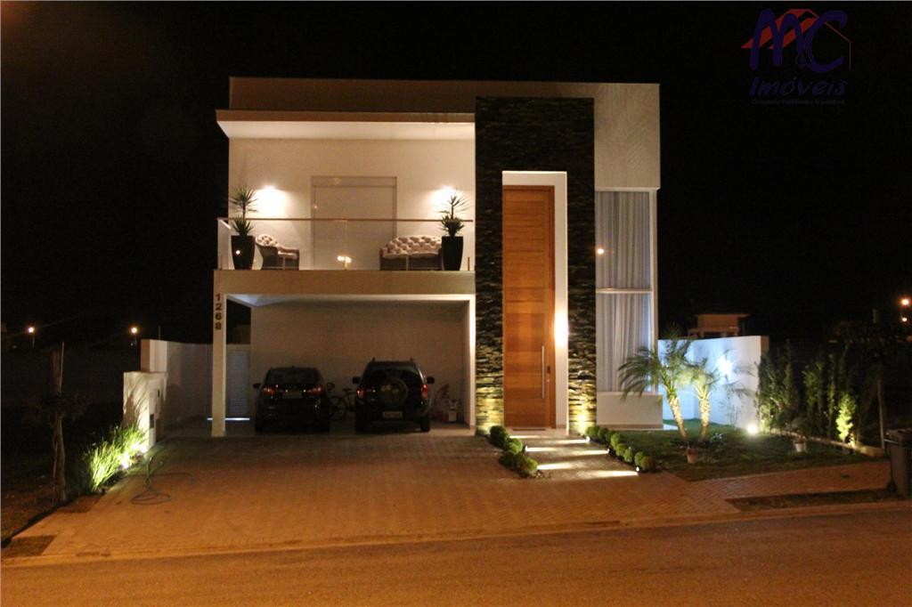Sobrado residencial à venda, Alphaville Nova Esplana, Votorantim.