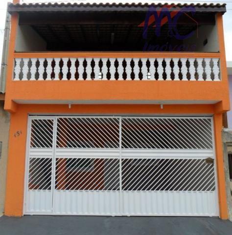 Sobrado  residencial à venda, Jardim Residencial Villa Amato, Sorocaba.