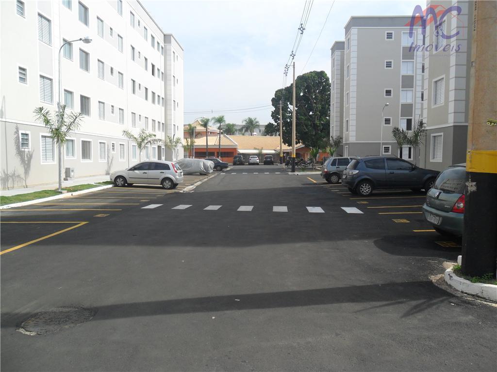 Apartamento  residencial para locação, Vossoroca, Votorantim.