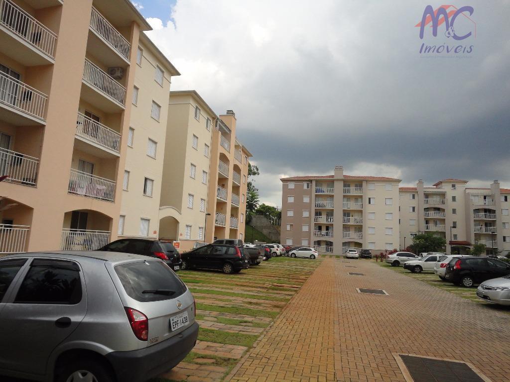 Apartamento  residencial para locação, Condomínio Residencial Encanto, Sorocaba.