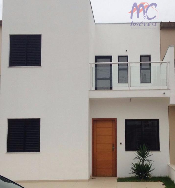 Sobrado residencial à venda, Horto Florestal, Sorocaba - SO0444.