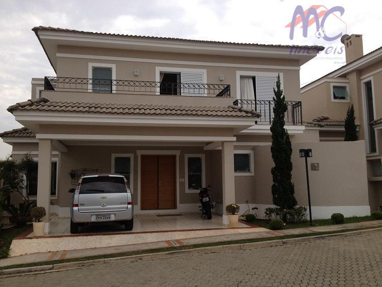 Sobrado  residencial à venda, Condomínio Real Villas Europa, Sorocaba.