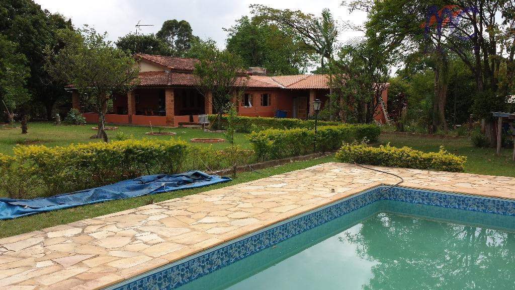 Chácara  residencial à venda, Cojunto Habitacional José Nogueira, Araçoiaba da Serra.