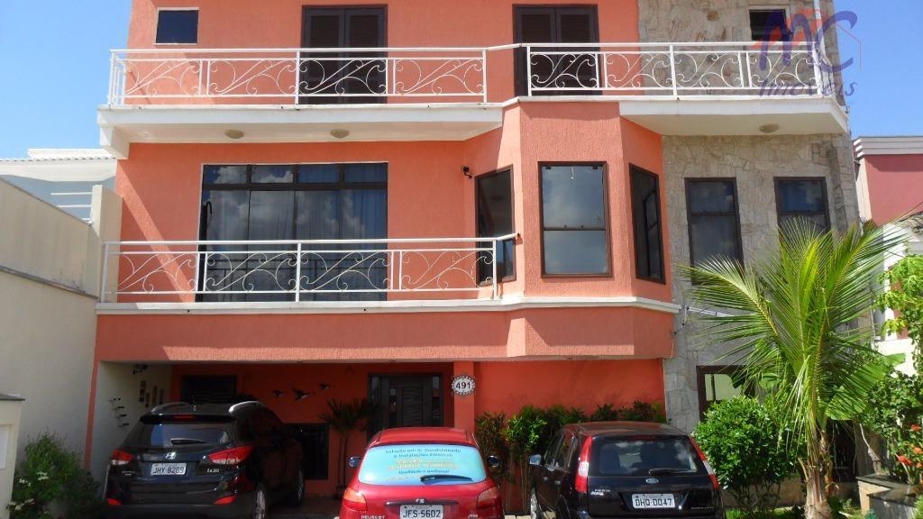 Sobrado  residencial para venda e locação, Condomínio Ibiti do Paço, Sorocaba.