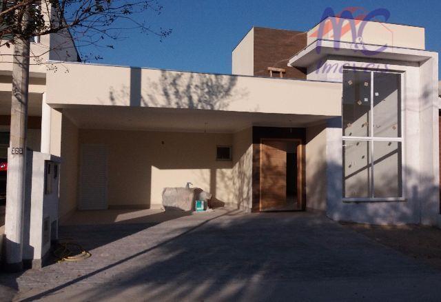 Casa  residencial à venda, Condomínio Ibiti Royal Park, Sorocaba. Aceita permuta apartamento ou terreno até 200 mil.