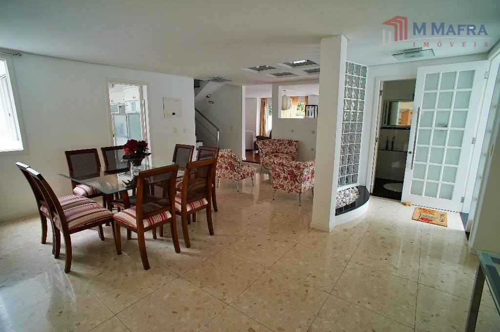 sala de jantar e hall entrada