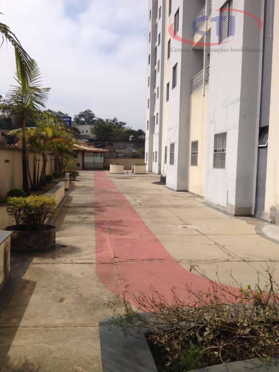 Apartamento residencial à venda, Vila Valparaíso, Santo André - AP1835.