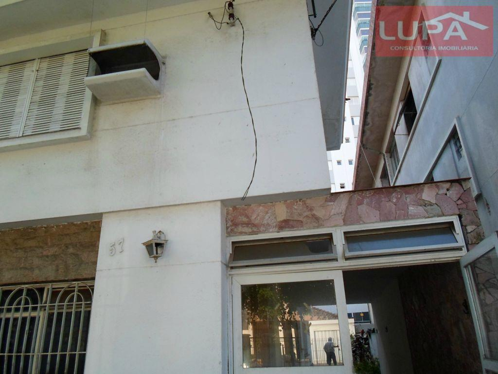 Sobrado residencial para venda e locação, Aparecida, Santos.