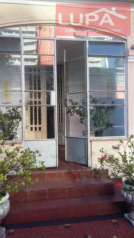 Sobrado residencial à venda, Gonzaga, Santos.