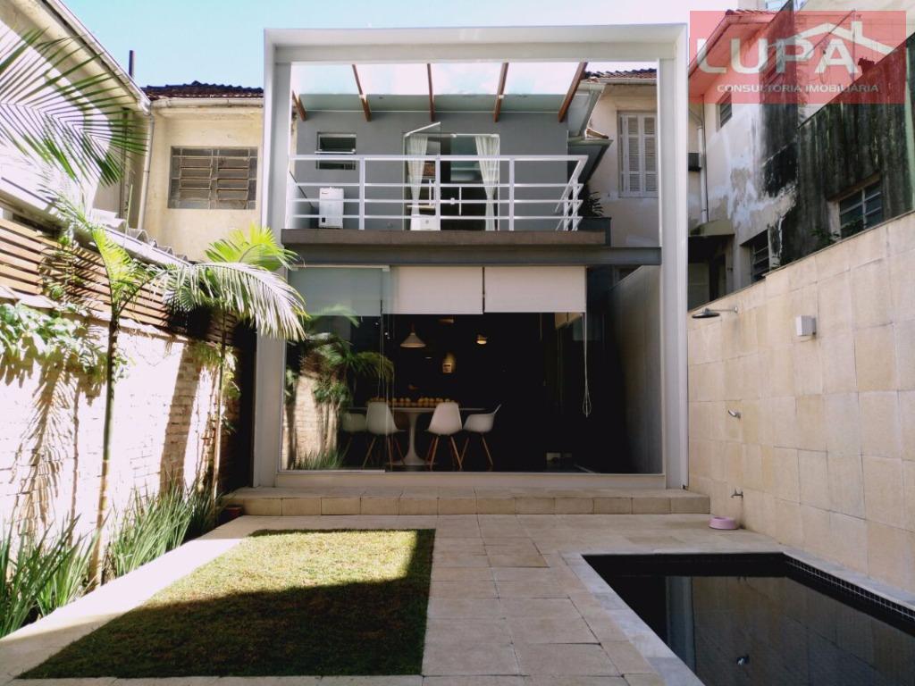 Casa residencial à venda, Gonzaga, Santos.