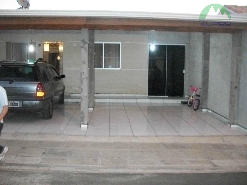 Casa residencial à venda, Gralha Azul, Fazenda Rio Grande.