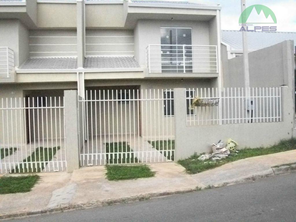 Sobrado residencial à venda, Nações, Fazenda Rio Grande.