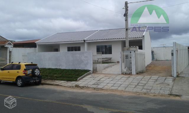 Lançamento! Casa com 2 quartos no Nações, Fazenda Rio Grande.