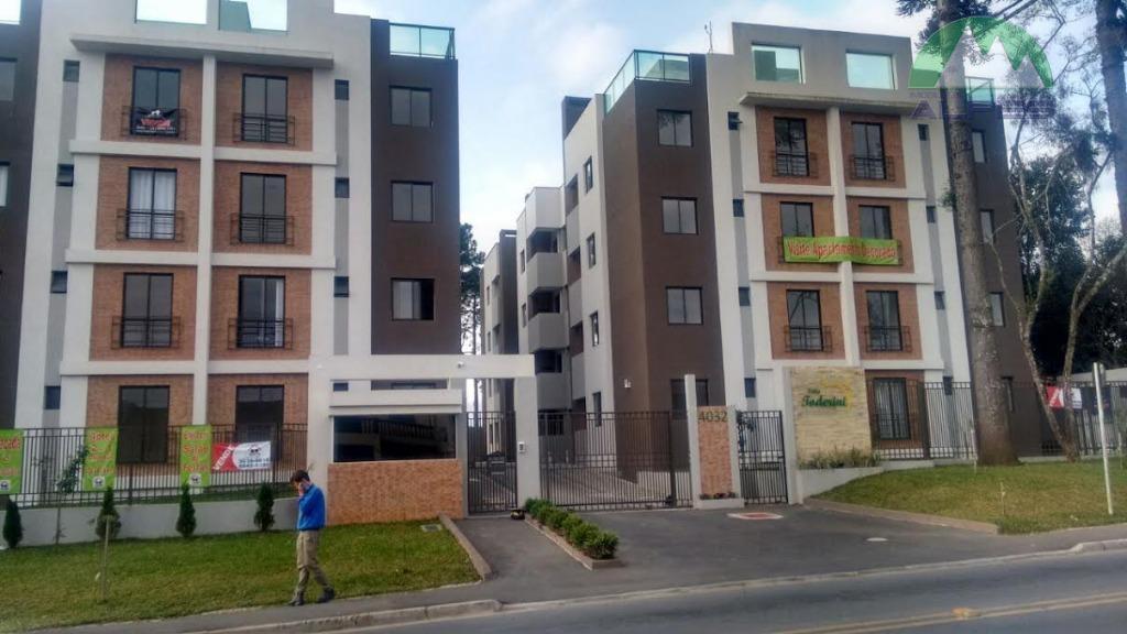 Apartamento com 2 dormitórios à venda, 62 m² por R$ 249.000 - Xaxim - Curitiba/PR