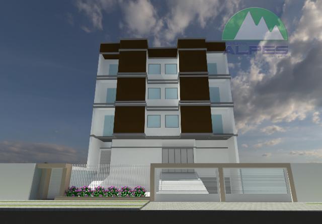 Apartamento residencial à venda, Jardim Monte Libano, São José dos Pinhais.