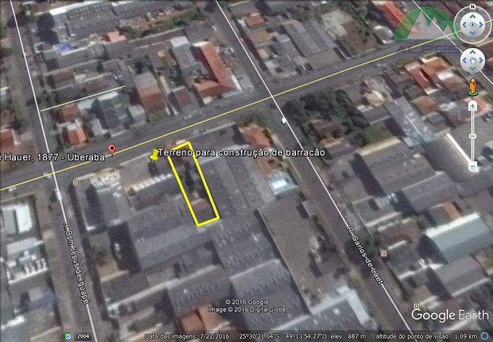 Terreno comercial à venda, Boqueirão, Curitiba.