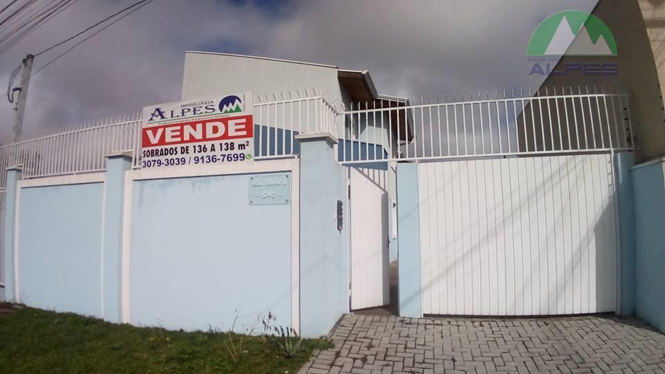 Sobrado residencial à venda, Boqueirão, Curitiba - SO0451.