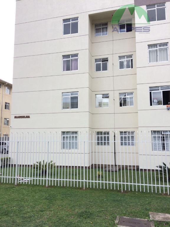 Apartamento residencial à venda, Pinheirinho, Curitiba.