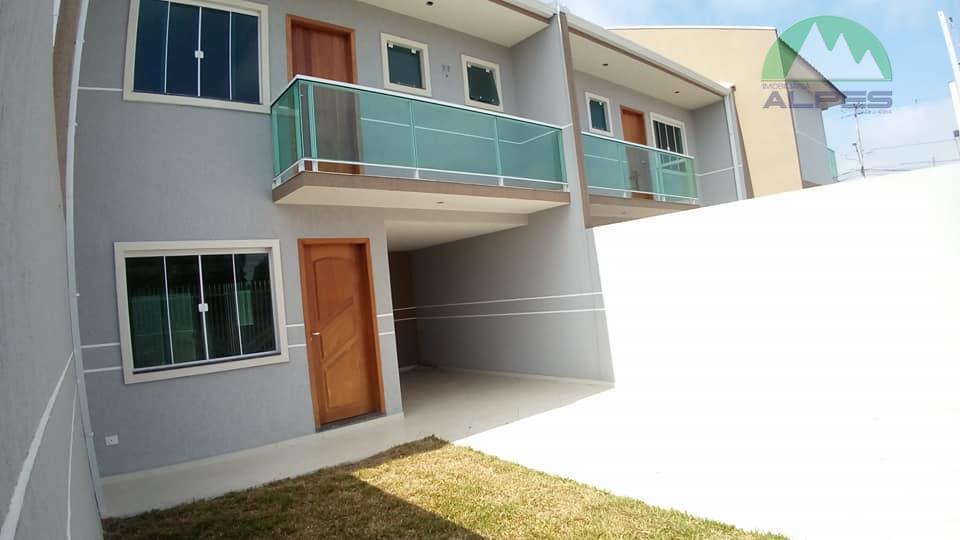 Sobrado residencial à venda, Pinheirinho, Curitiba.