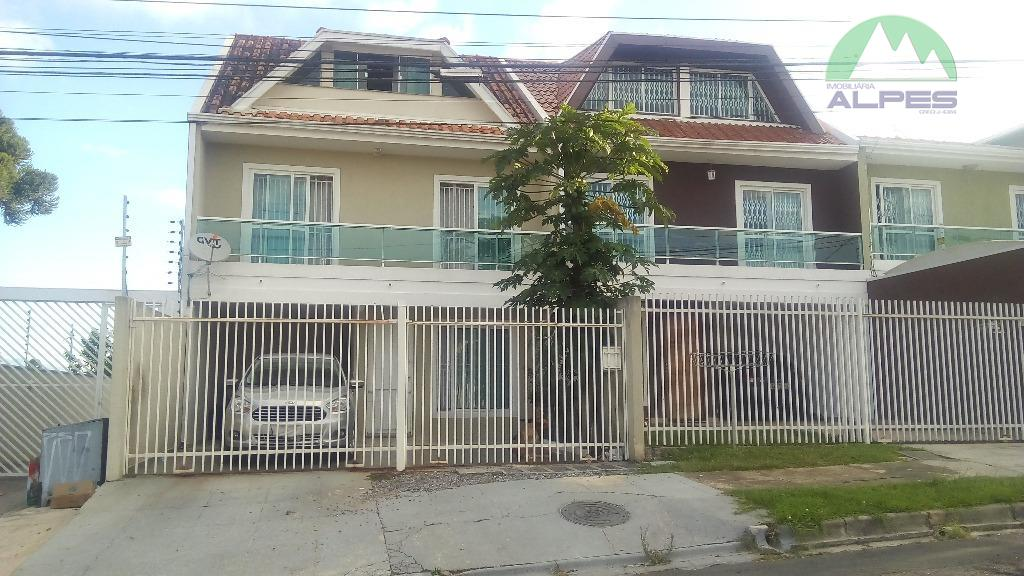 Sobrado residencial à venda, Boqueirão, Curitiba - SO0003.
