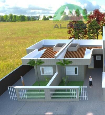 Casa com 3 dormitórios à venda, 46 m² por R$ 240.000 - Boqueirão - Curitiba/PR