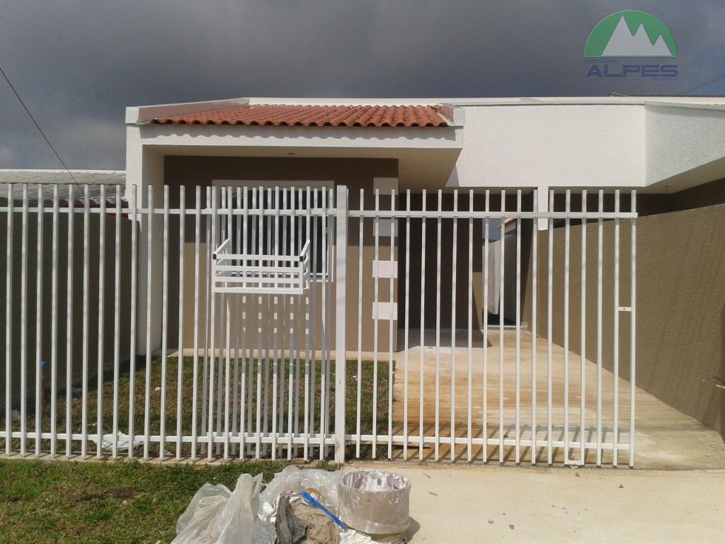 Casa com 3 dormitórios à venda, 64 m² por R$ 175.000 - Nações - Fazenda Rio Grande/PR