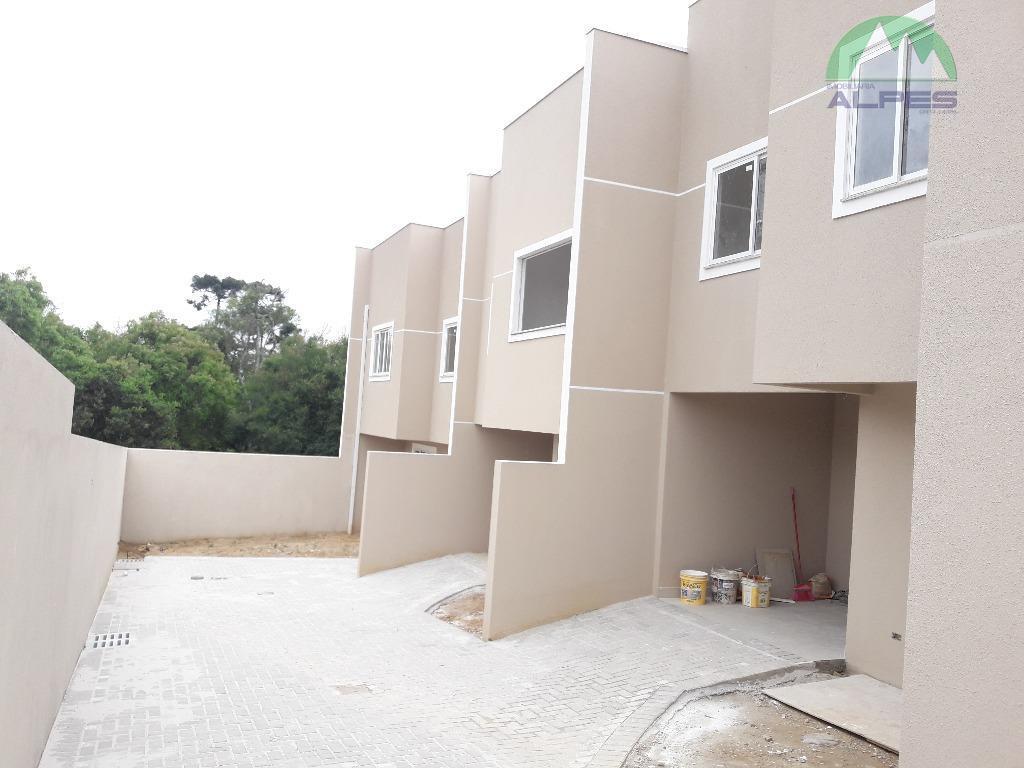 Sobrado com 3 dormitórios à venda, 80 m² por R$ 240.000 - Campo de Santana - Curitiba/PR