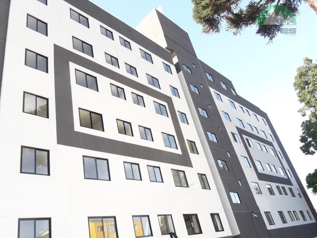 Apartamento com 2 dormitórios à venda, 48 m² por R$ 250.000 - Lindóia - Curitiba/PR