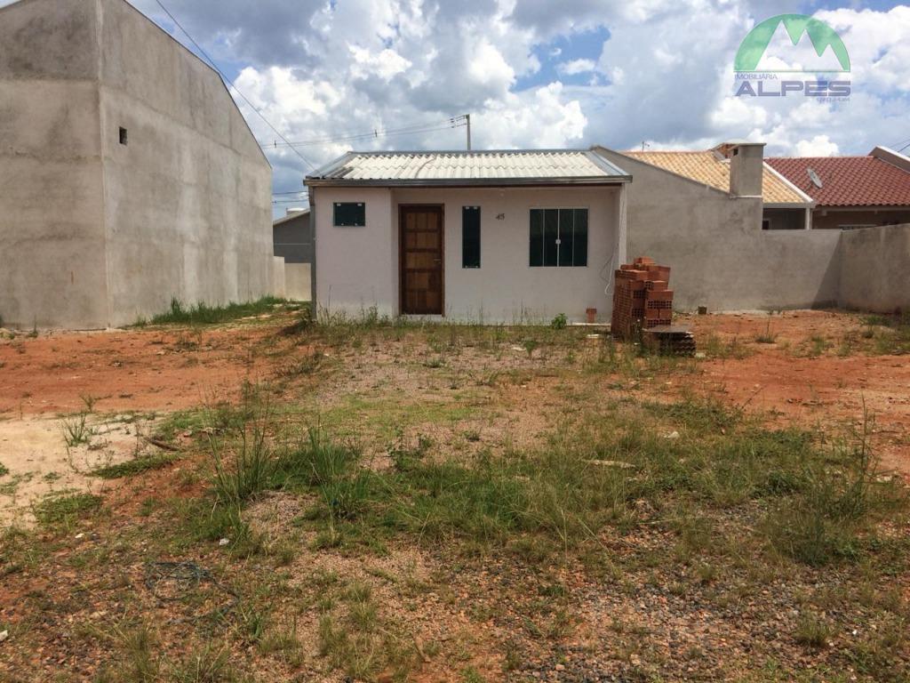 Casa para alugar, 43 m² por R$ 450/mês - Nações - Fazenda Rio Grande/PR