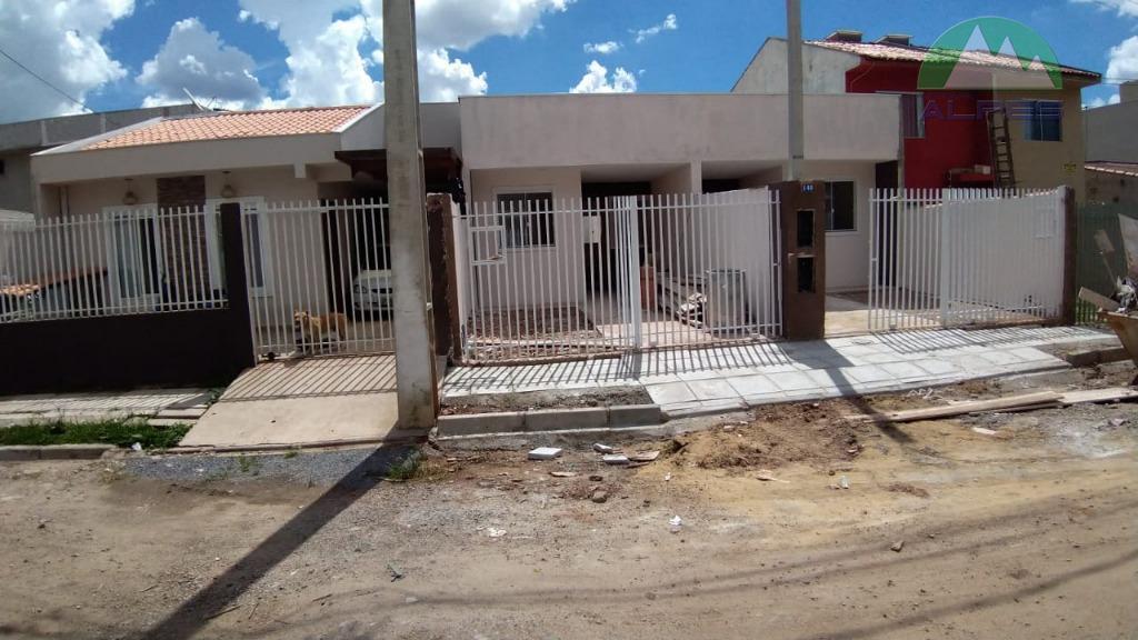 de frente para rua, com laje e estrutura para sobrado.a casa terá 2 quartos, sala 02...