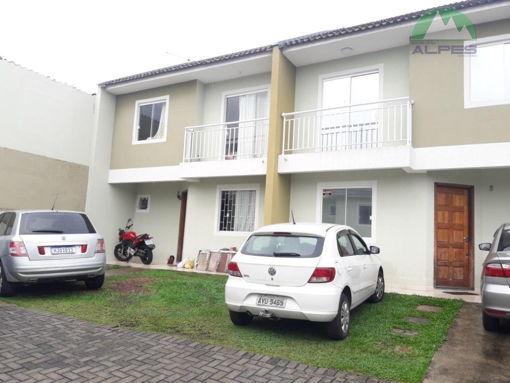 Sobrado com 3 dormitórios à venda, 110 m² por R$ 329.000 - Pinheirinho - Curitiba/PR