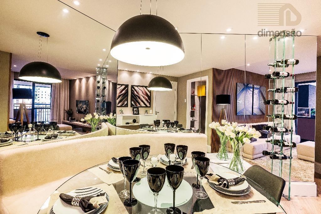 Apartamento 90m² - Living