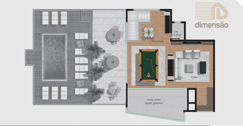 Cobertura Triplex pavimento 3