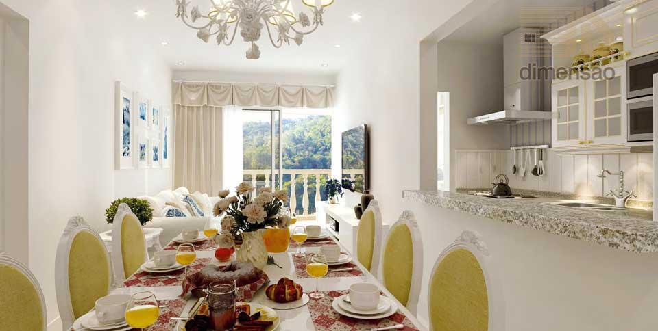 Apartamento com preço promocional na Via Gastronômica.