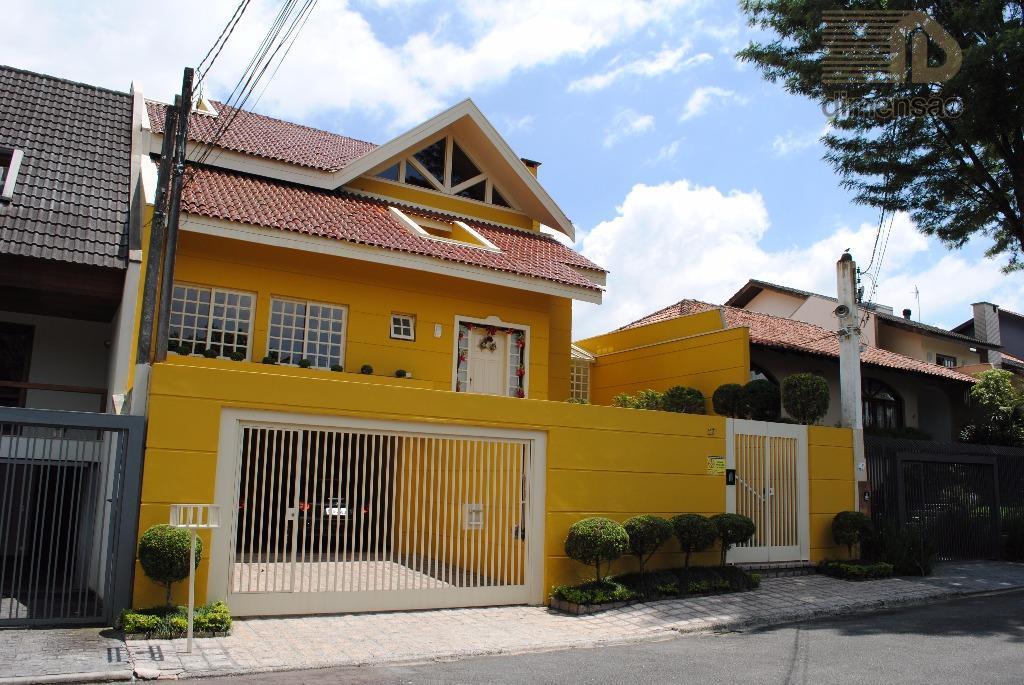 Sobrado residencial à venda, Jardim Social, Curitiba.